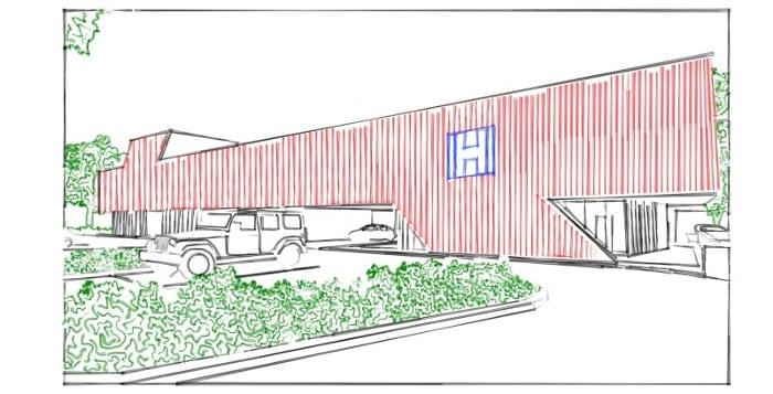 Harvey-Pediatric-Clinic_Sketch_programa- arquitetura-BIM-Edificius