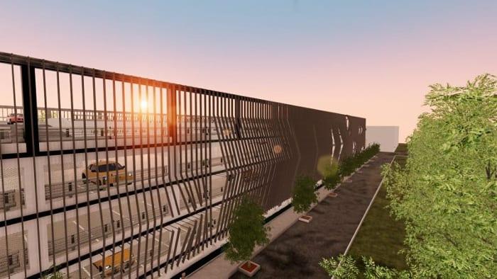 Parking-Les-yeux-verts_Render-espaços externos_software-BIM-arquitetura-Edificius