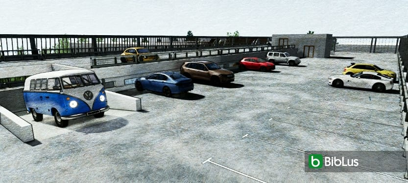 Projeto de estacionamento DWG_programa de arquitetura BIM_Edificius