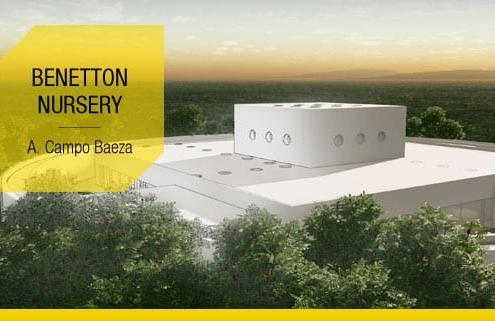 Projeto arquitetonico de escola infantil com o modelo 3D BIM e desenhos DWG para baixar_Benetton Nursery-Campo Baeza