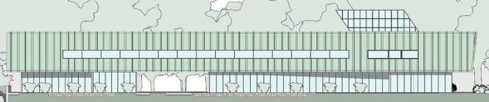 Elevação-Norte_Harvey-Pediatric-Clinic_programa- arquitetura-BIM-Edificius