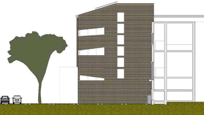Elevação_projetar uma biblioteca_ programa de arquitetura BIM Edificius