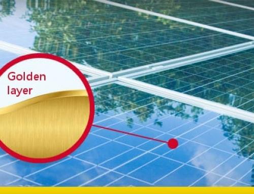 "O painel solar ""Golden Sandwich"" capaz de criar hidrogénio"
