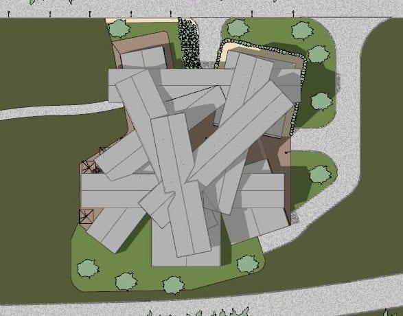 Projetar-museu-VitraHaus-planimetria-programa de arquitetura BIM-Edificius