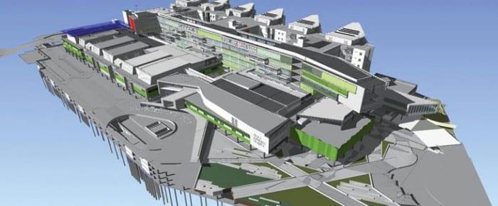 Modelo BIM do Royal Adelaide Hospital programa de arquitetura BIM Edificius