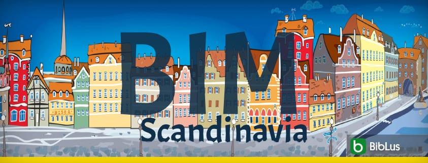 A imagem mostra um panorama escandinavo