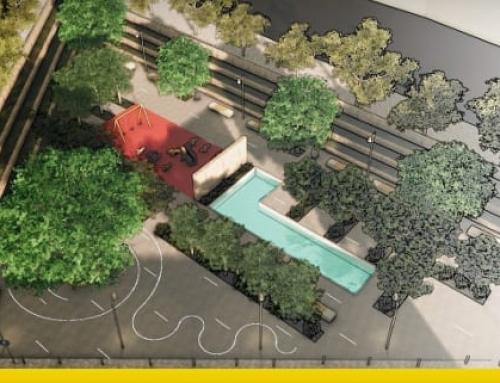 Mobiliário urbano, critérios e exemplo de projeto