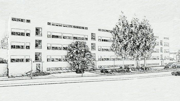 Weissenhofsiedlun-Estugarda_obra de Mies van der Rohe_render_programa de arquitetura BIM_Edificius