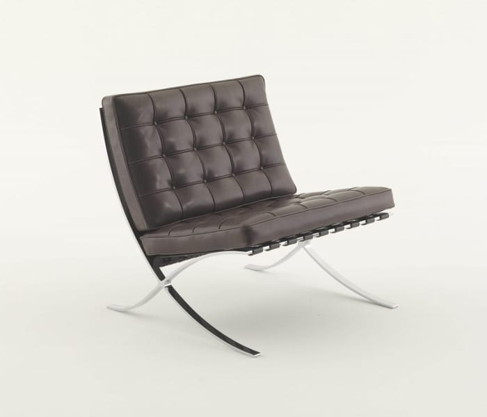 Bauhaus-arte-cadeira-Barcelona-Mies-100 anos de Bauhaus Ícones