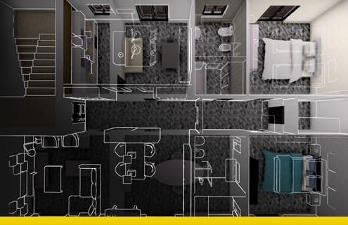 Reforma de apartamento_programa de arquitetura BIM_Edificius