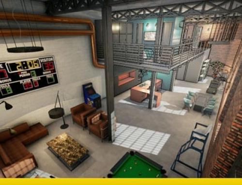 Projeto de loft, guia técnico com exemplos no formato dwg