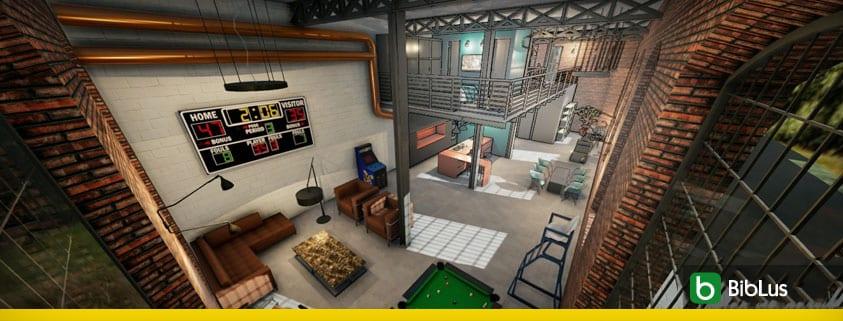 Projeto de loft, guia técnico com exemplos no formato dwg_Edificius