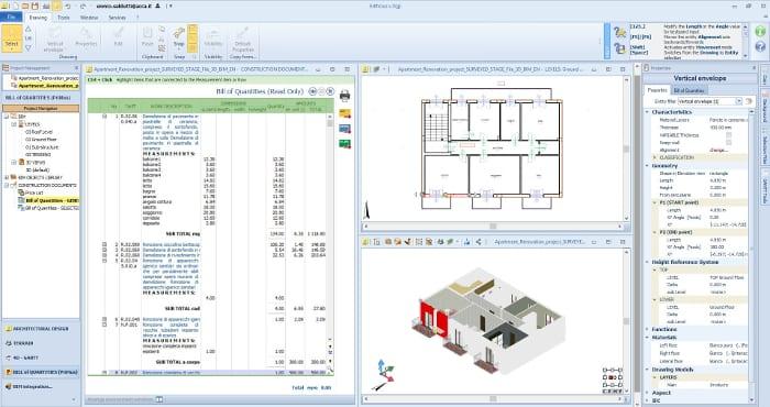 exemplo-5d-bim-programa de arquitetura BIM-Edificius