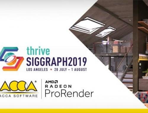 ACCA software com AMD na Siggraph 2019