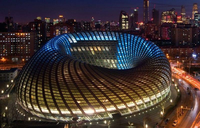 BIM no mundo 3 projetos realizados na China-Phoenix-Media-Center-Pechino
