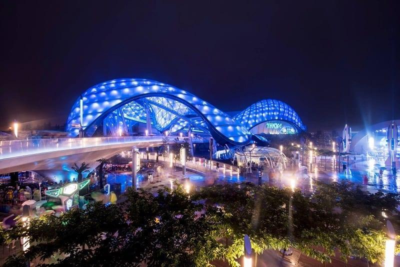 BIM no mundo 3 projetos realizados na China Shangai-Disneyland-resort
