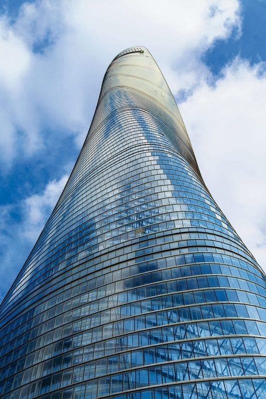 BIM no mundo 3 projetos realizados na China Shanghai-Tower