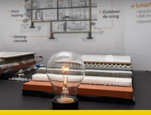 Grafeno no concreto: aquece casas e conduz eletricidade!