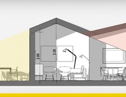Reforma sótão: ideias e exemplo de projeto