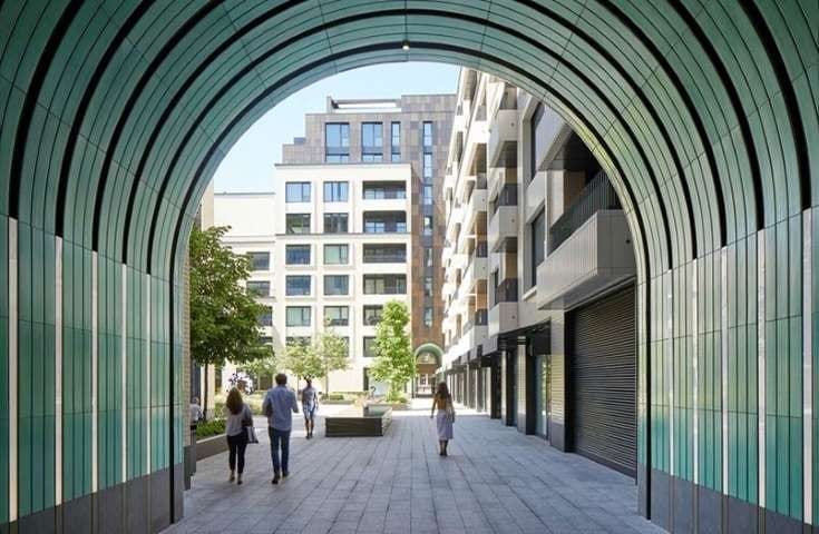 Projetos em BIM luxo no centro de Londres 3