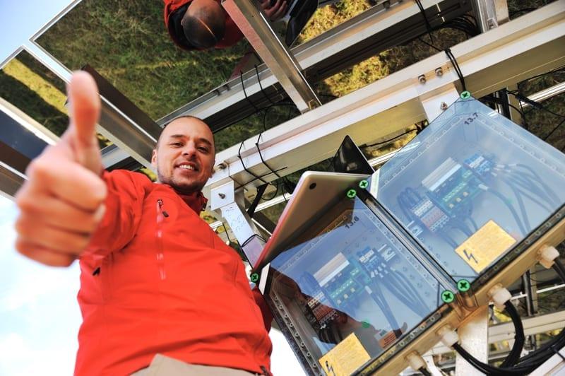 Técnicos sistema fotovoltaico Solarius PV