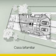 Projeto de casa bifamiliar: guia com exemplo para baixar_Edificius