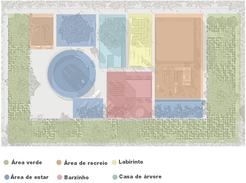 Projeto de playground infantil-distribuição funcional_PT