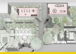 Desenho de espaços verdes urbanos: guia de três fases de projeto_programa BIM de arquitetura 3D Edificius