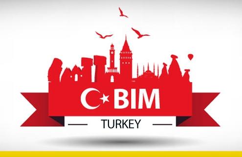 A imagem se refere ao BIM na Turquia