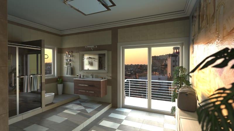 Brilho superfícies renderização realizada com Edificius