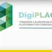 A imagem mostra o logo da plataforma digital europeia DigiPLACE