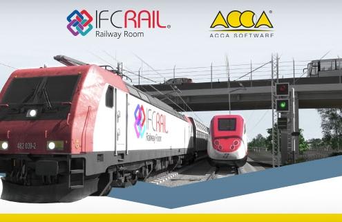 Esta imagem ilustra o projeto IFC Rail da ACCA em Pequim