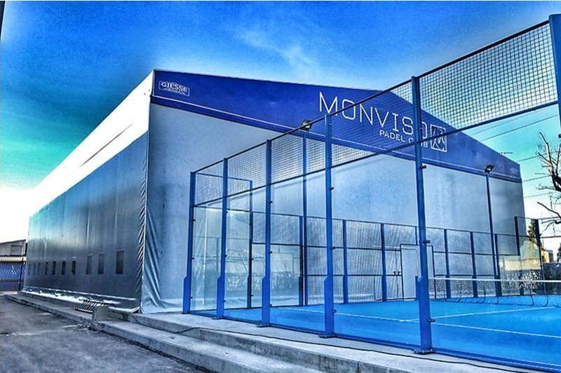 A imagem se refere ao centro esportivo Monviso Sporting Club