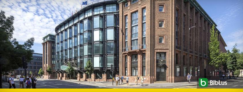 A imagem mostra o edificio que sitea o financial times