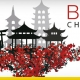 A imagem mostra os tipicos edificios chineses ao fundo e a escrita BIM CHINA
