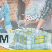 A imagem mostra um grupo de profissionais trabalhando junto graças a metodologia BIM