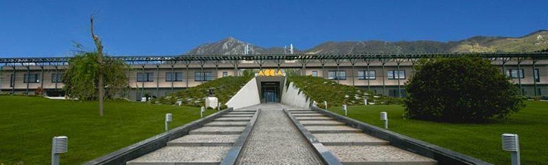 A imagem e uma fotografia mostrando a sede da ACCA software, empresa italiana desenvolvedora de softwares BIM