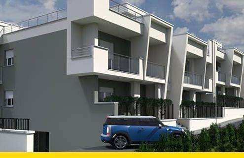 A imgem mostra um render de complexo residencial realizado no ambito de um projeto Edificius User eXperience