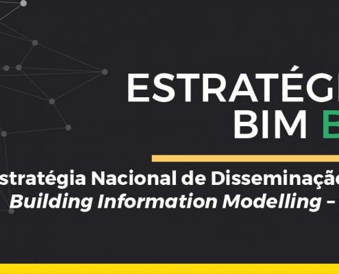 A imagem se refere a capa da Estrategia BIM BR