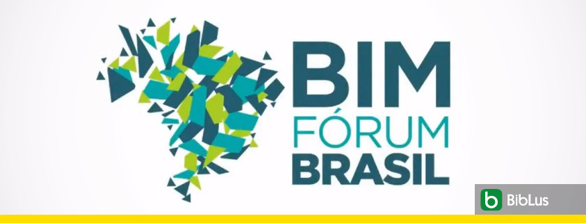 A imagem mostra o logotipo do BIM FORUM Brasil