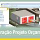 A imagem ilustra o conceito da integracao de modelo 3D com orcamento no Edificius, o software de arquitetura BIM