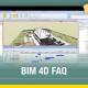 A imagem mostra a interface de um software de autoria BIM 4D