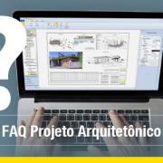 A imagem mostra a tela de um computador com algumas pranchas graficas para projeto arquitetonico na interface do Edificius, o software BIM para projeto arquitetonico