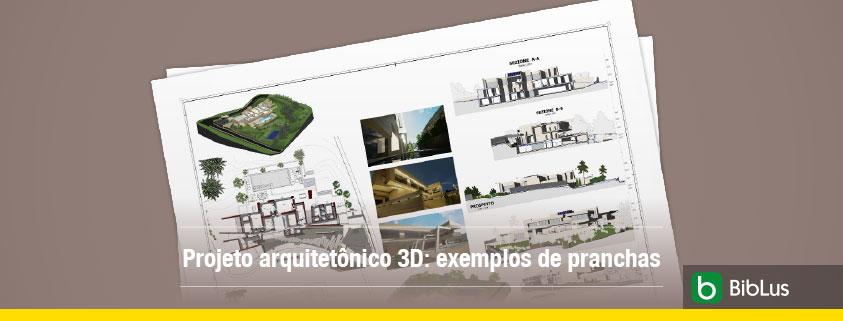 A imagem mostra algumas pranchas de projeto arquitetonico impressas no papel