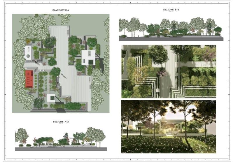 A imagem mostra a documentação de projeto que pode ser montada no Edificius
