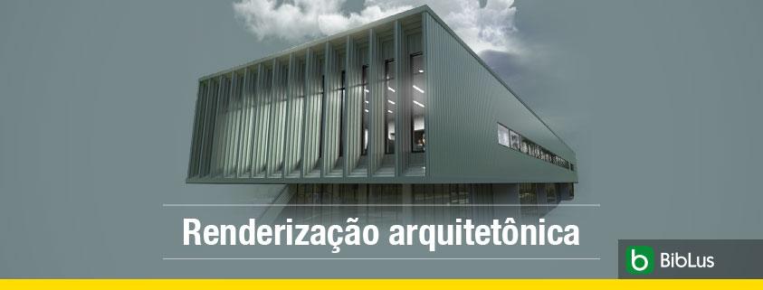 A imagem mostra um exemplo de renderizacao arquitetonica realizado com o Edificius