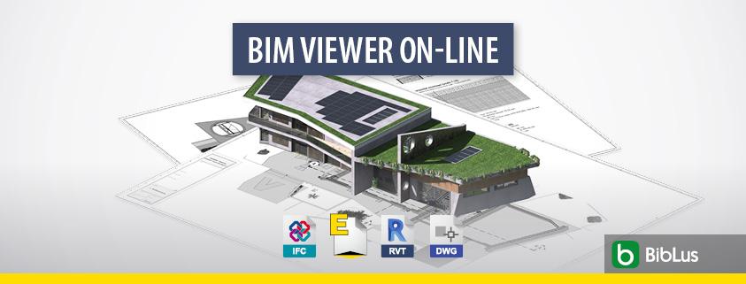 A imagem ilustra o conceito de BIM viewer on-line