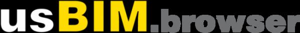 A imagem mostra o logotipo do usBIM.browser da ACCA software