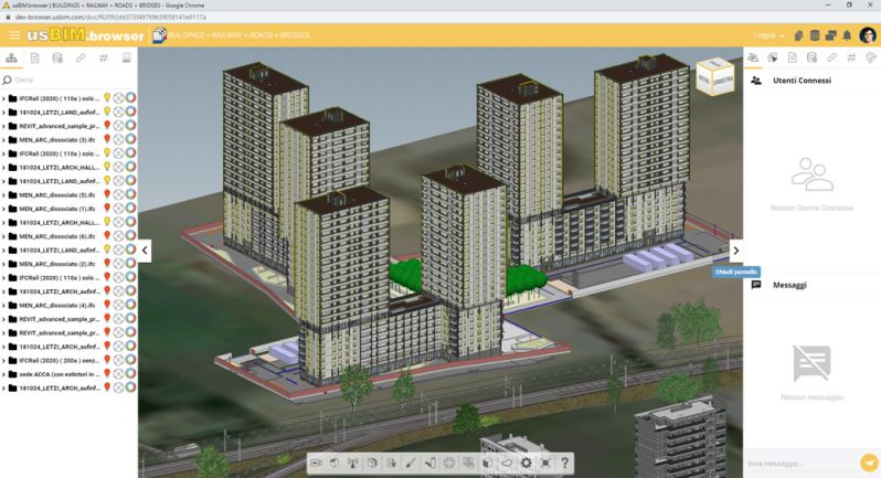 A imagem mostra a digitalizacao de ativos e sua valorizao por meio do usBIM.browser